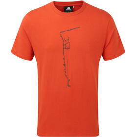 Mountain Equipment Yorik Tee Men Paprika